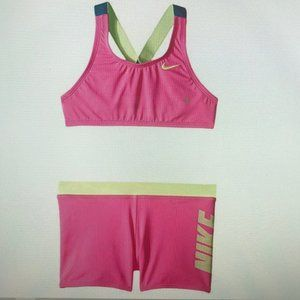 Nike Rift Prism Cross-back Bikini and Shorts.Girls